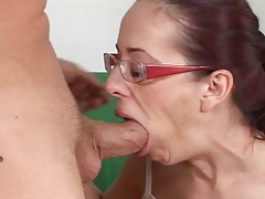 Hairy mature vicky