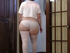 SPANKING Jiggling FAT ASS