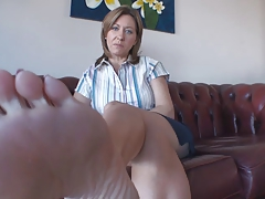 Mistress Feet Licking