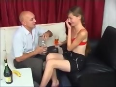JOB INTERWIEV CASTING YOUNG SKINNY NAIVE RUSSIAN 18YO TEEN AND OLD MATURE D