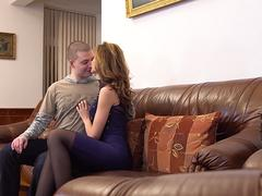 Russian housewife Marels mature pussy got pounded