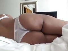 Indian wife playing with husband's dick