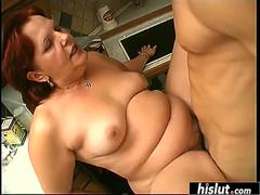 BBW wants nothing more than a thick creampie