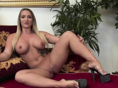 McKenzee Miles gets fucked on the couch