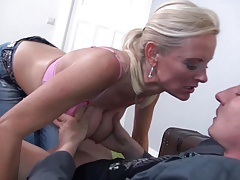 Mature super MOM fucks SON hard and long