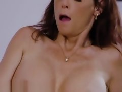 Busty Stepmom Found Mommy Porn on Daughters Comp!