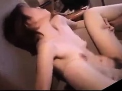 Hot Japanese milf got her hairy muff licked and drilled
