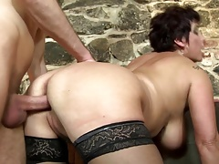Mature mothers fuck young boys like crazy