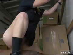 Milf fucked on sofa and play solo hd Black suspect taken on a tough ride